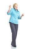 Happy woman. Stock Image