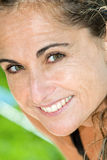 Happy woman. A happy woman close up Stock Photos