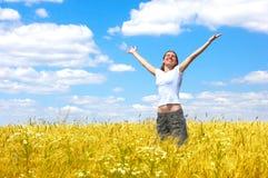 Happy woman Stock Photos