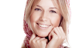 Happy woman with beautiful smile Royalty Free Stock Photo