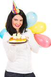 Happy woman birthday Royalty Free Stock Photo