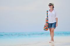 Happy woman enjoy summer vacation Royalty Free Stock Photo