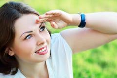 Happy woman Stock Image