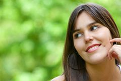 Happy woman portrait Stock Photography