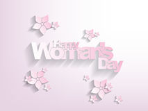 Happy woman's day Background Stock Photos
