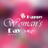 Happy Woman's Day Royalty Free Stock Image