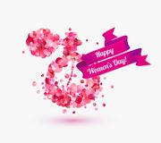Happy woman`s day! 8 March holiday. Royalty Free Stock Image
