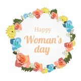 Happy Woman s Day Royalty Free Stock Photos