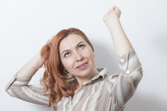 Happy Woman Smiling Royalty Free Stock Image