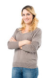 Happy Woman Smiling Royalty Free Stock Photos