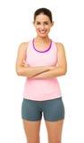 Happy Woman In Sportswear Stock Photography