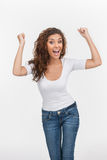 Happy woman Stock Images