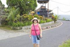 Happy women in Bali Stock Photos