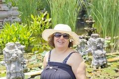 Happy women in Bali Royalty Free Stock Photos