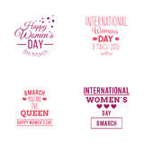 Happy Women Day vector illustration