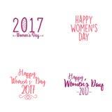 Happy women Day Stock Photos