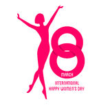 Happy Women Day background Royalty Free Stock Photos