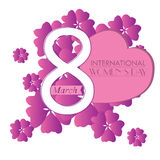 Happy women day Royalty Free Stock Image