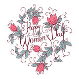 Happy Women Day. Stock Images