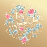 Happy Women Day. Royalty Free Stock Image