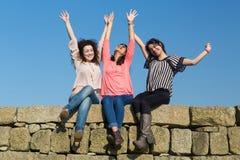 Happy women Royalty Free Stock Photos