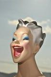 Happy Women Mannequin Head Stock Photos
