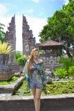Happy Women  in Nusa Dua ,Bali Royalty Free Stock Photo