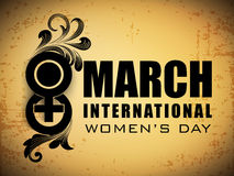 Happy Women's Day Stock Photography
