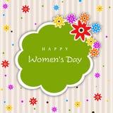 Happy Women's Day. Royalty Free Stock Photo