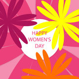 Happy Women's Day Royalty Free Stock Photos