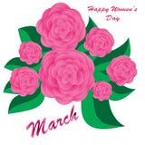 Happy Women's Day background Stock Photos