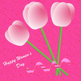 Happy Women's Day background Stock Photo