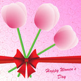 Happy Women's Day background Stock Images