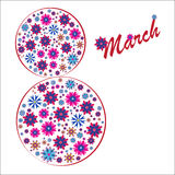 Happy Women's Day background Royalty Free Stock Images