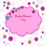 Happy Women's Day background Royalty Free Stock Photo