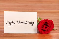 Happy women`s day royalty free stock photos