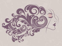 Happy Women's Day greeting card Royalty Free Stock Photography