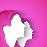 Happy Women's Day greeting card Royalty Free Stock Image
