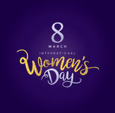 Happy Women`s Day. 8 March, Happy Women`s Day Stock Photography