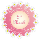 Happy women's day Stock Photography