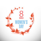 Happy Womens Day celebrations concept Stock Image