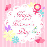 Happy womens day Stock Photos