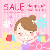Happy womens day Royalty Free Stock Images