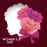 Happy womens day design Stock Images