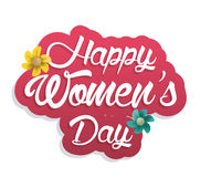 Happy Womens day design vector illustration