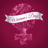 Happy womens day. Design,  illustration eps10 graphic Royalty Free Stock Image
