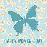 Happy womens day. Design, vector illustration eps10 graphic Stock Illustration