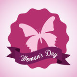 Happy womens day Royalty Free Stock Photography