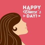 Happy womens day Royalty Free Stock Photo