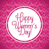 Happy womens day Stock Photography
